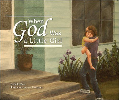 """The author responds to his young daughter's questions about God by telling the story of creation using the image of Go"