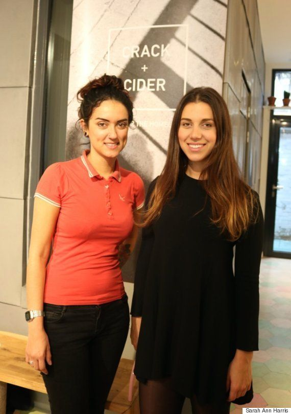 Charley Cramer (R) and Scarlett Montanaro are the founders of Crack +