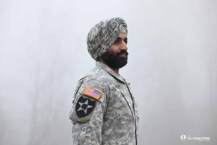 After years of cutting his hair and shaving his face, Captain Simratpal Singh will no longer have to choose between his faith and his calling.