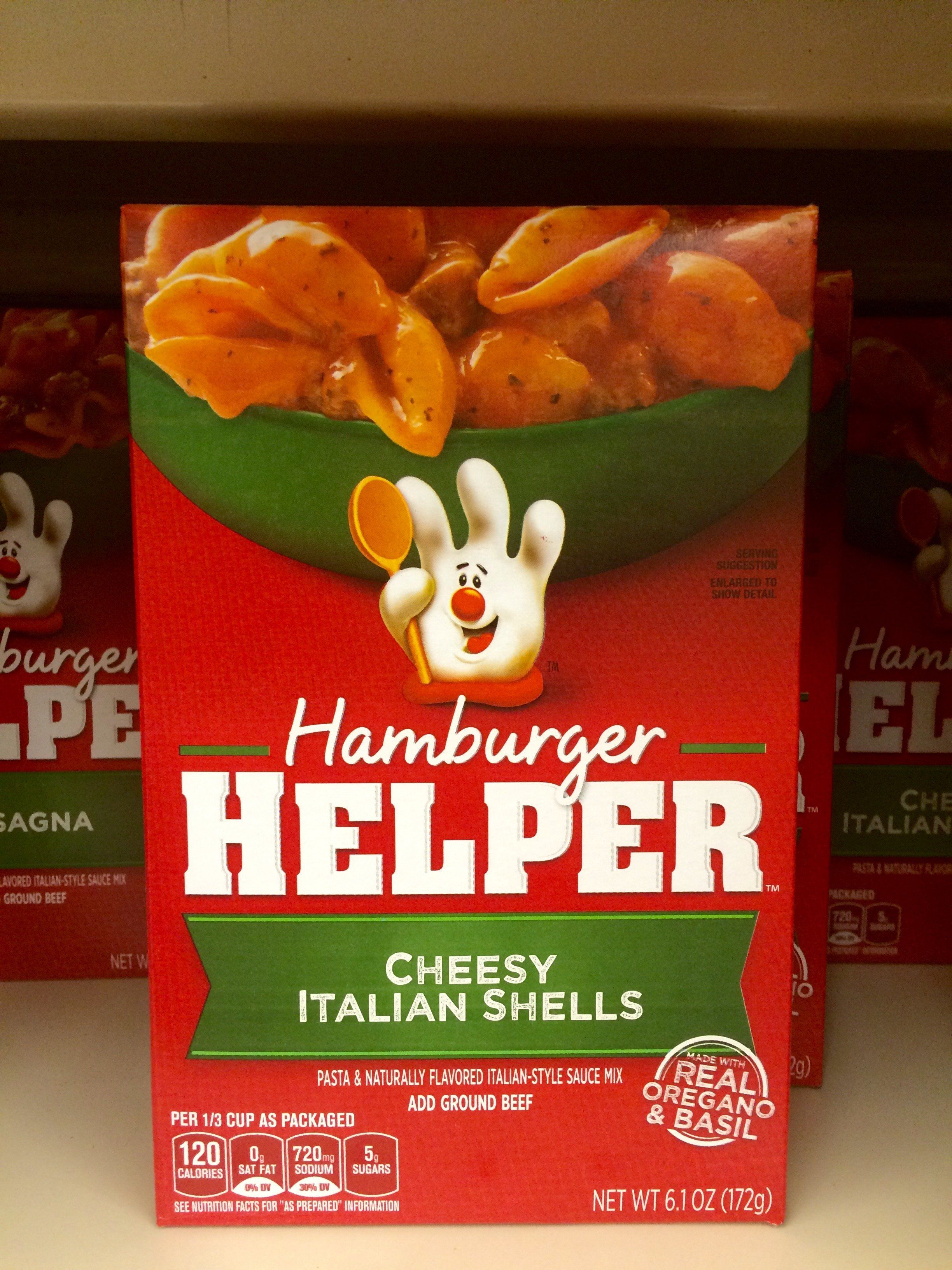 Hamburger Helper can dish some serious beef.