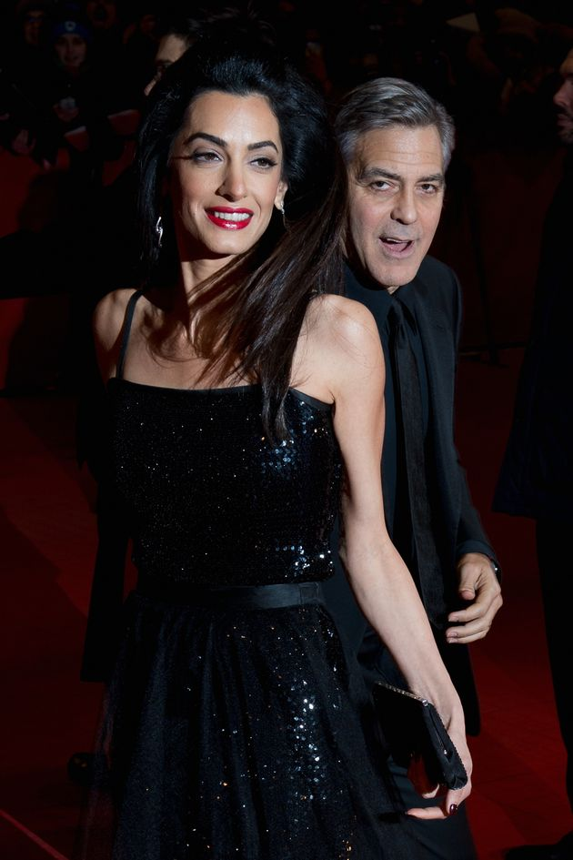 George and Amal attending the Berlin Film Festival back in