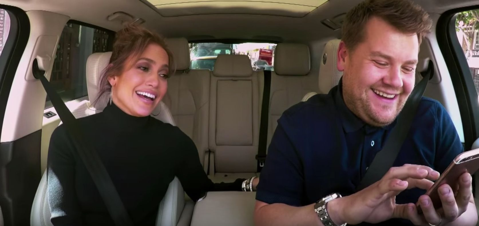 J-Lo Reveals Leo's Reaction To 'Carpool Karaoke'
