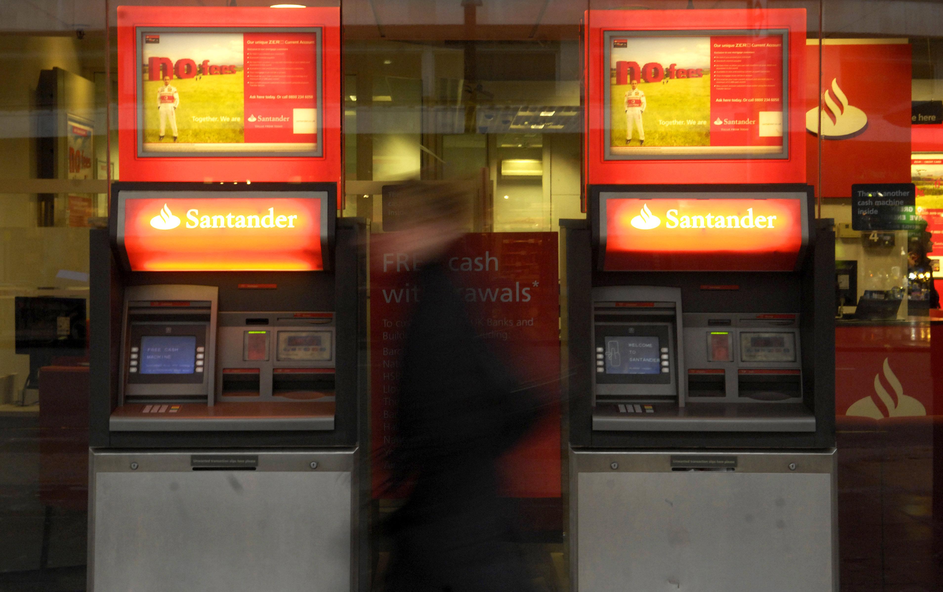 Police Warning Over Santander ATMs 'Compromised' By Criminals