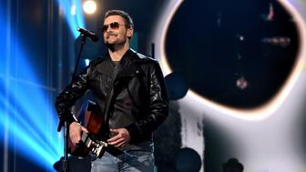 LAS VEGAS, NEVADA - APRIL 03:  Recording artist Eric Church performs onstage during the 51st Academy of Country Music Awards at MGM Grand Garden Arena on April 3, 2016 in Las Vegas, Nevada.  (Photo by Kevin Winter/ACM2016/Getty Images for dcp)