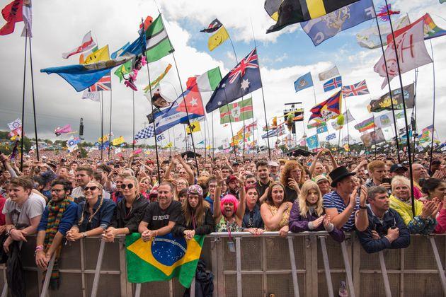 Glastonbury attracted over 135,000 revellers last