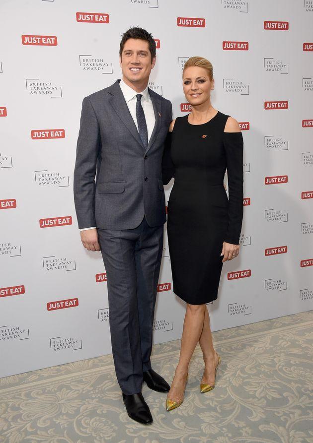 Vernon Kay and his wife, fellow TV presenter Tess