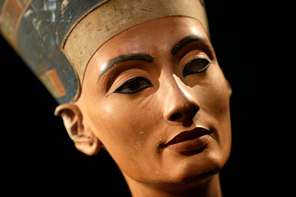 The Nefertiti bust, which is kept at a museum in