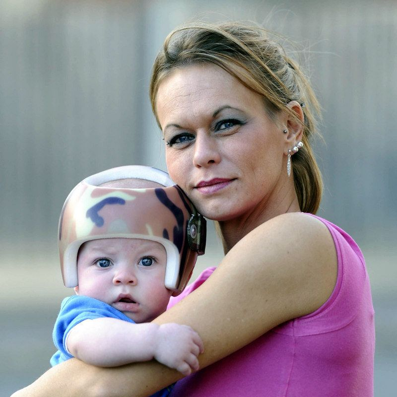 Aileen Sergent and her son Loki during