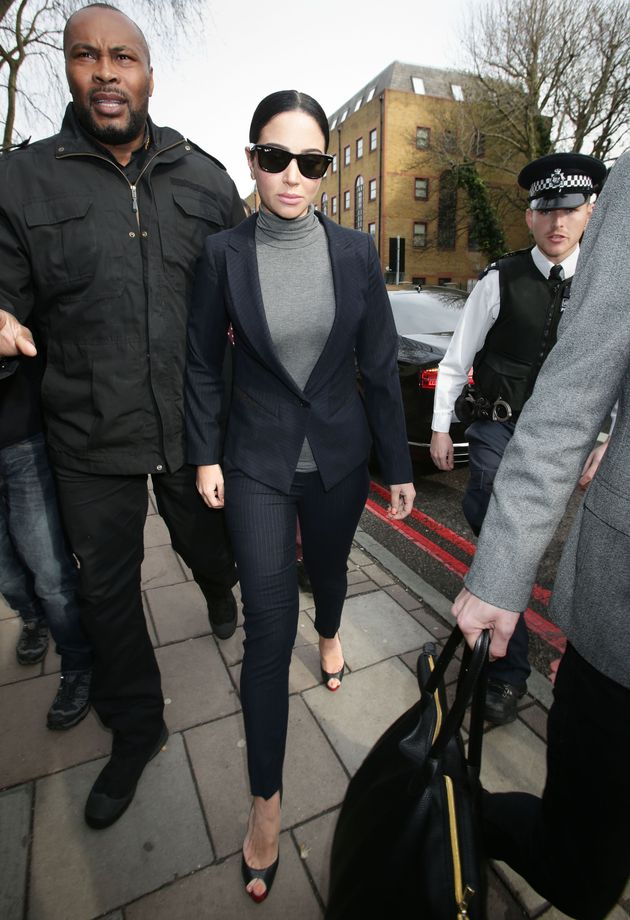 Tulisa Contostavlos Breaks Down In Tears In Court After Pleading Guilty To Drink