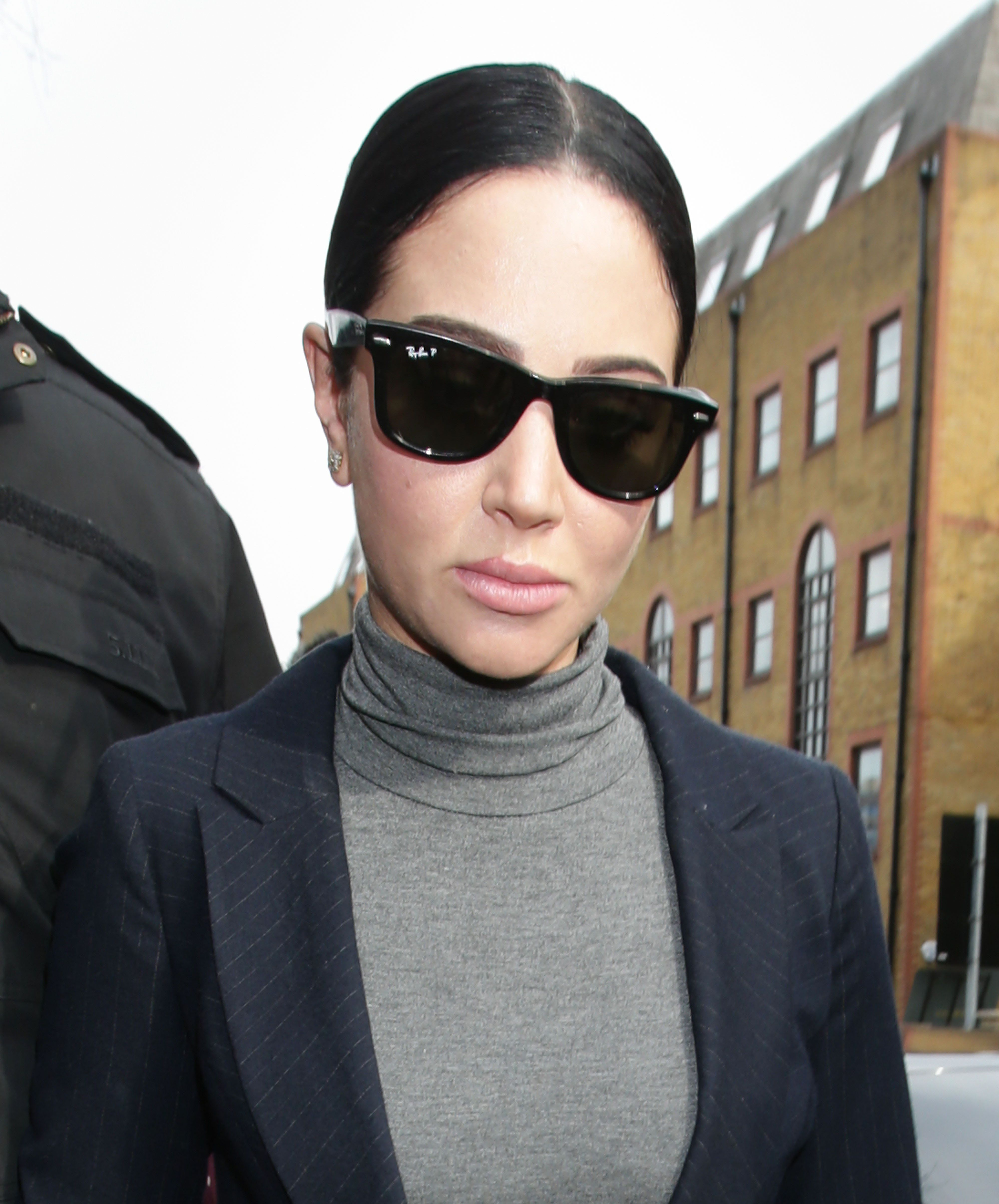 Tulisa Breaks Down In Court After Receiving Driving