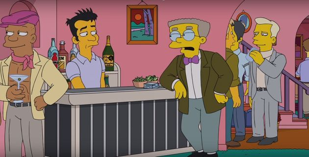 Waylon Smithers has finally come out as
