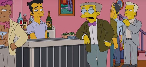 'Simpsons' Writer Reveals Personal Story Behind Smithers' Coming Out