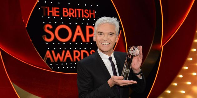 Phillip Schofield will once again host the British Soap