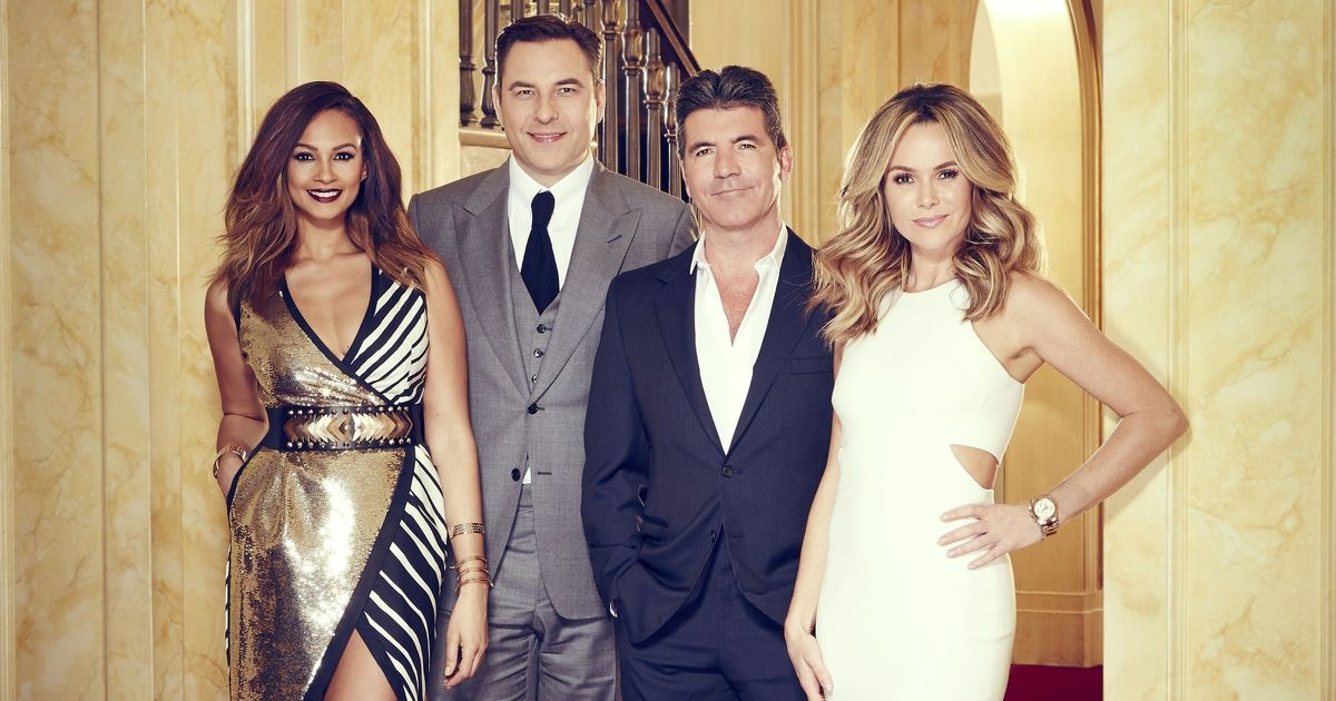 Simon Cowell Reveals The X Factor Judges Were Almost Replaced With The Entire Britain S Got Talent Panel Huffpost Uk