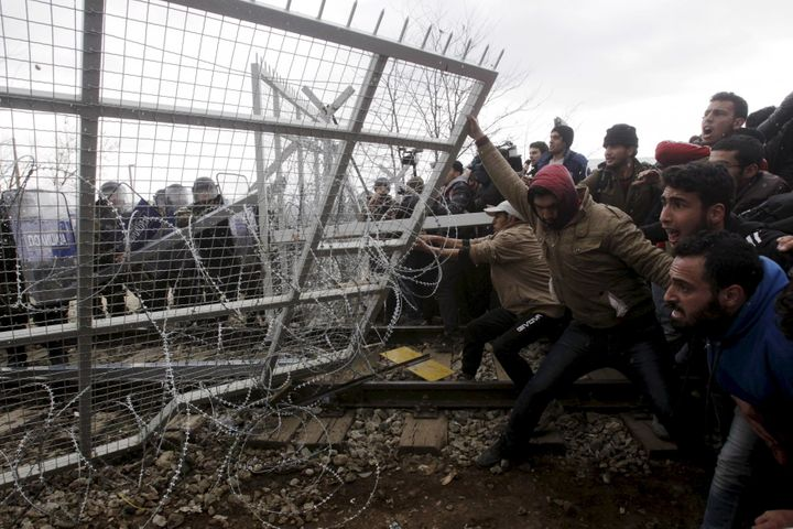 Many walls have been built to block refugees' access to European Union nations from states outside the block, but some a