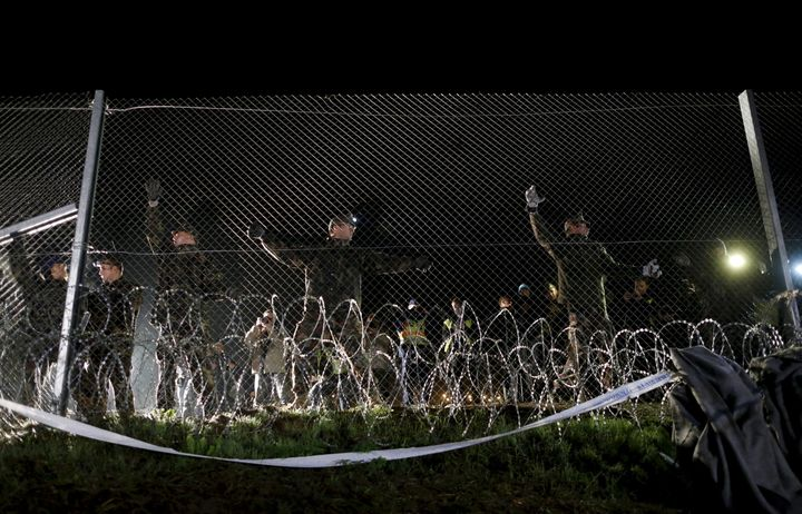 The EU has refused to financefences, saying theyare ineffective.