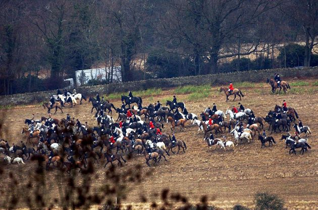 The girl is believed to have been riding with The Cotswold Hunt (file