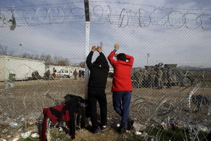 From a governmental perspective, building fencesis perfectly legal and countries have the right to control who enters t