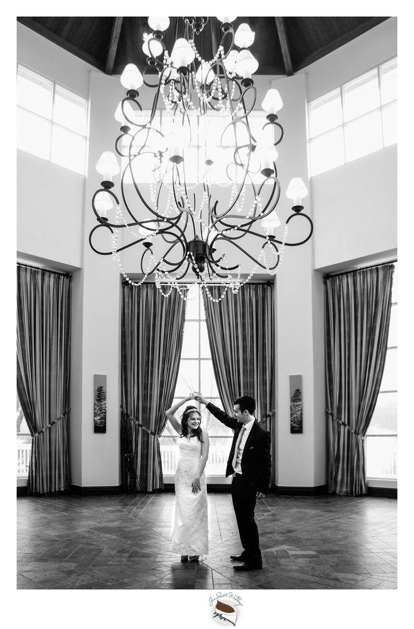 """Samantha andPatrick had a gorgeous andintimate wedding at Deerhurst Resort in Muskoka, Ontario!"" - <i>photograph"