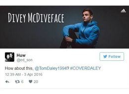 Tom Daley Asked Twitter To Design A Cover Photo For Him And You See Where This Is Going