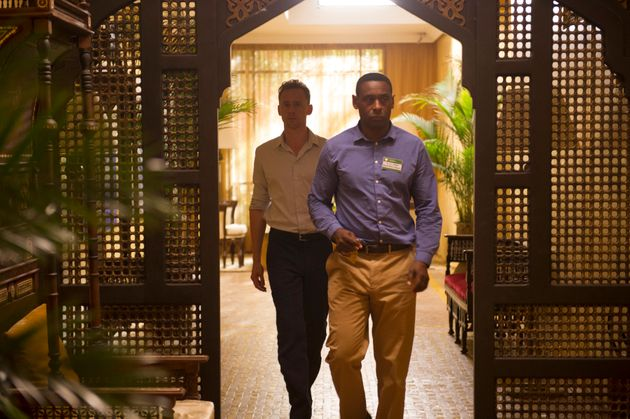 David Harewood with Tom Hiddleston in 'The Night