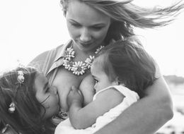 Mom Breastfeeds Both 3-Year-Old And 1-Year-Old In Gorgeous Photos