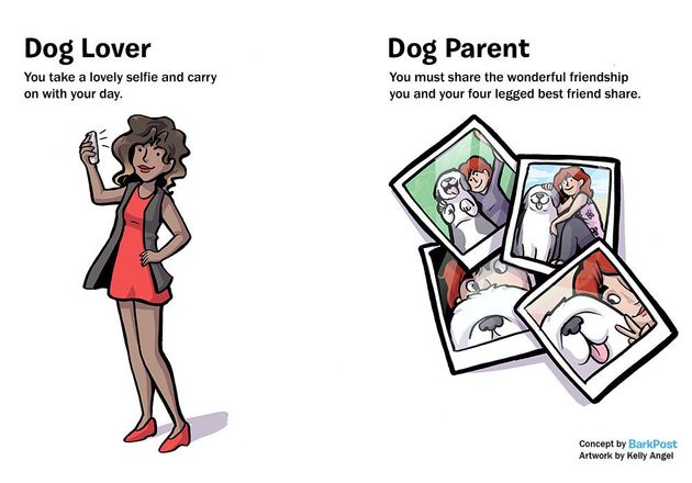 Hilarious Comic Nails What It's Like To Be A Dog Parent vs. A Dog Lover 570292db1500002a000b3f44