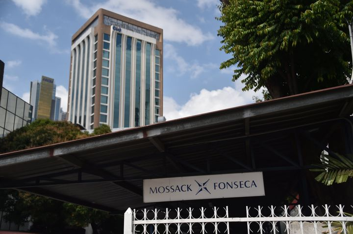 A view of the building where the offices of Panama-based law firm Mossack Fonsecaare located. Around 11.5 million docum