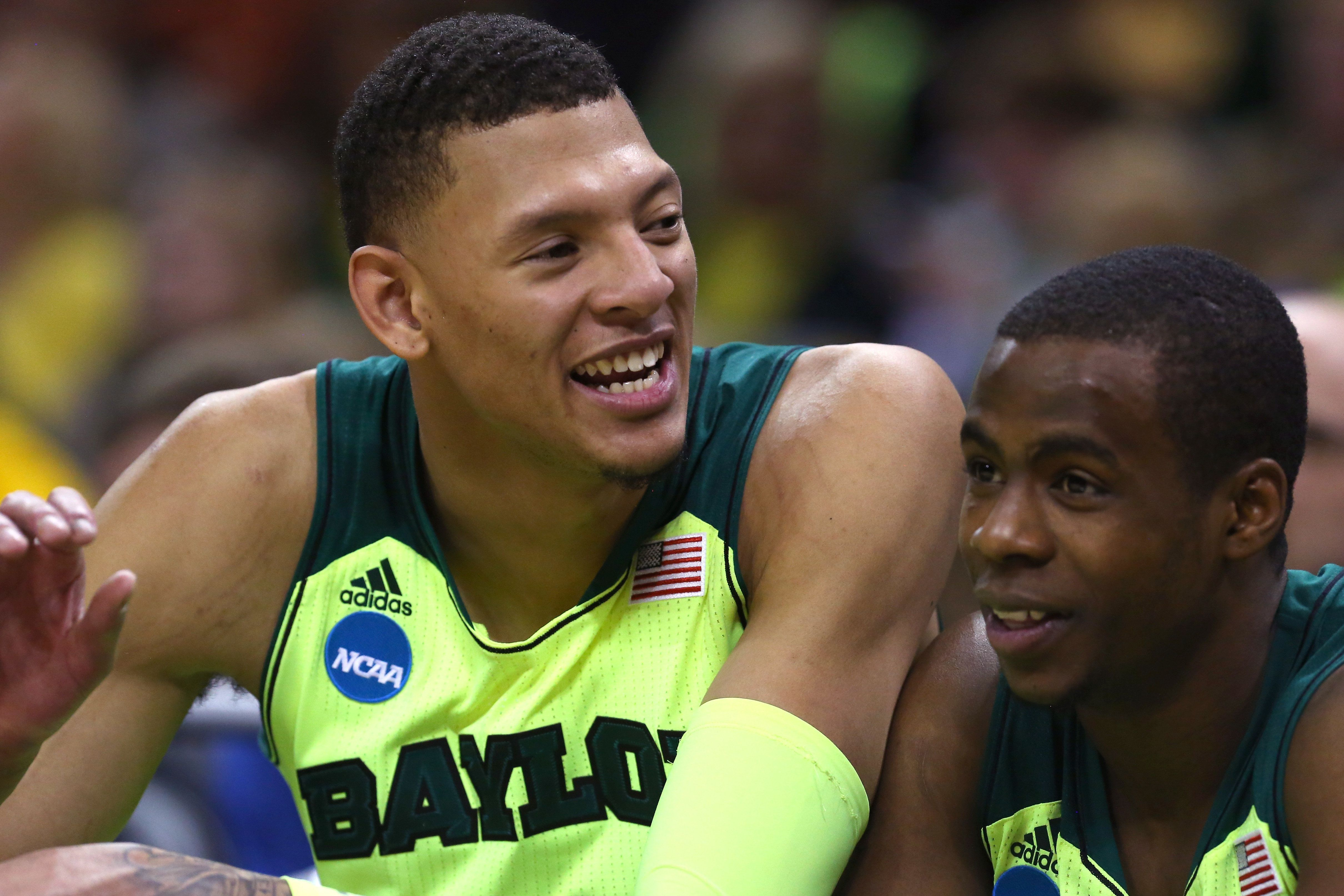 Isaiah Austin averaged 12 points and 7 rebounds during his two seasons playing for Baylor.
