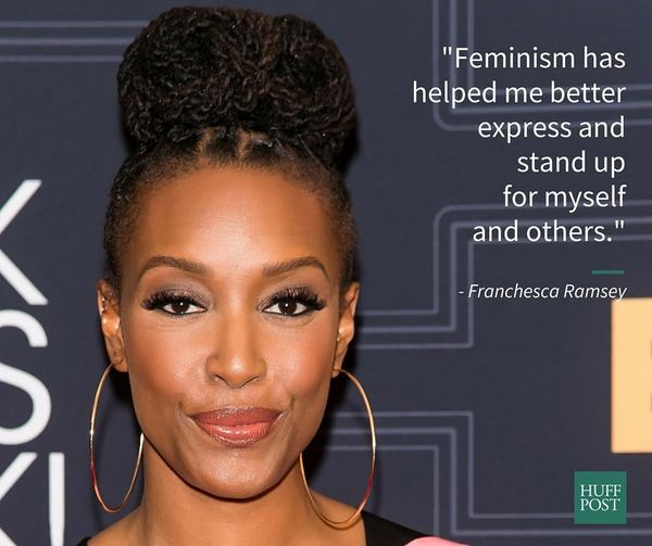 """Feminism has helped me better express and stand up for myself and others.<br><br>I think many of today's feminists are worki"