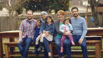 """These two families have been featured in Honey Maid's latest """"This Is Wholesome"""" ad campaign"""