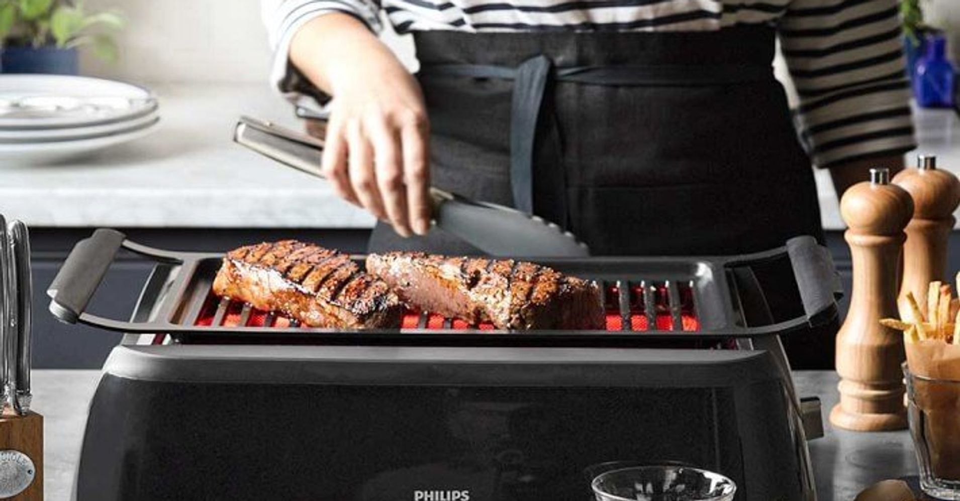 The Best Indoor Grill You Can Get And It Won T Fill Your