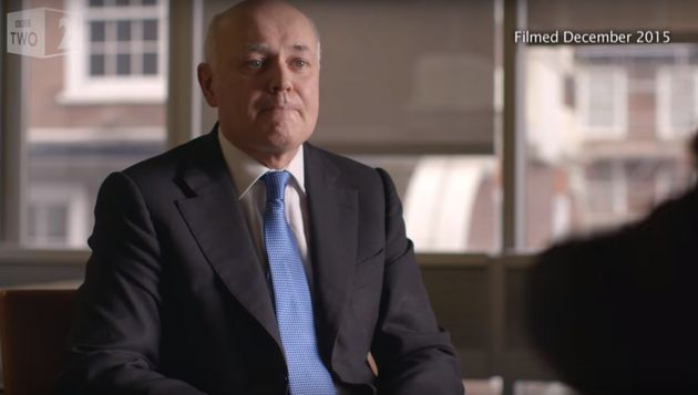 Iain Duncan Smith Cried In BBC Interview About Teenage Single