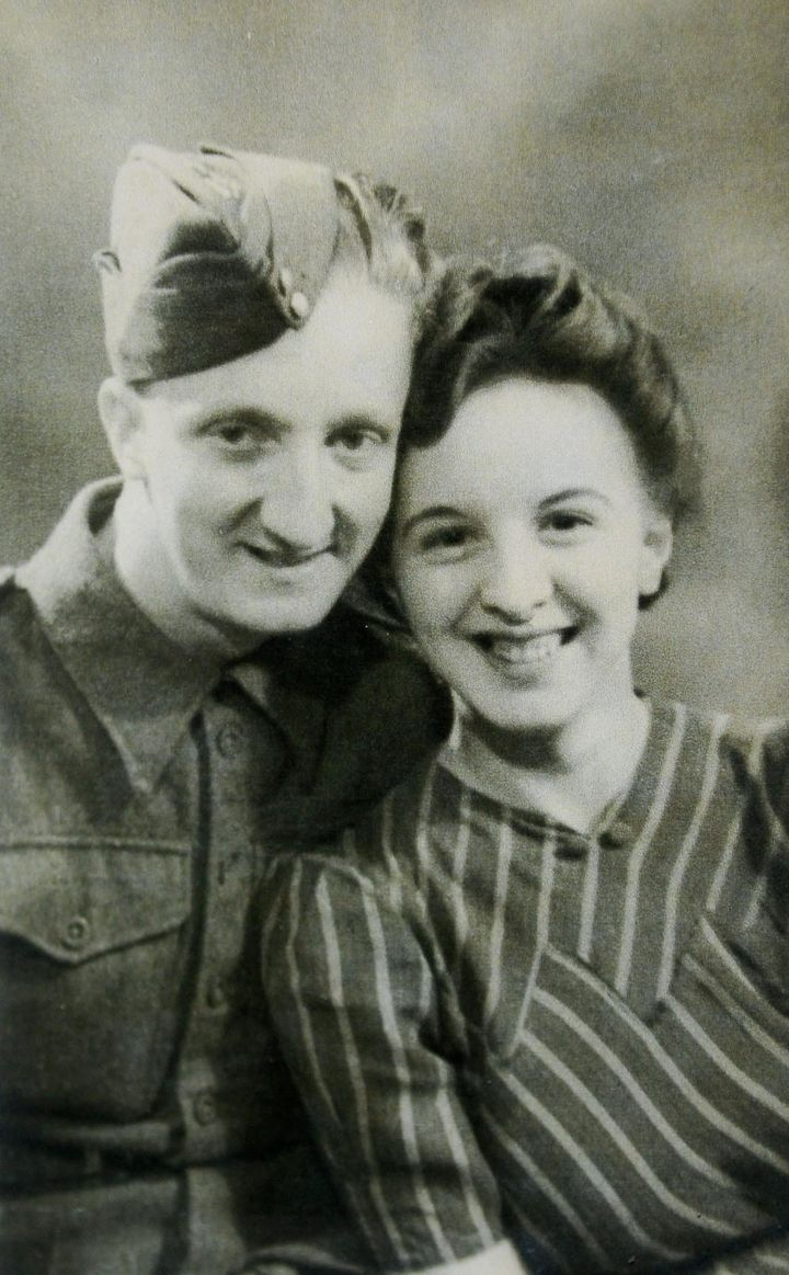 Roy and Nora in 1944