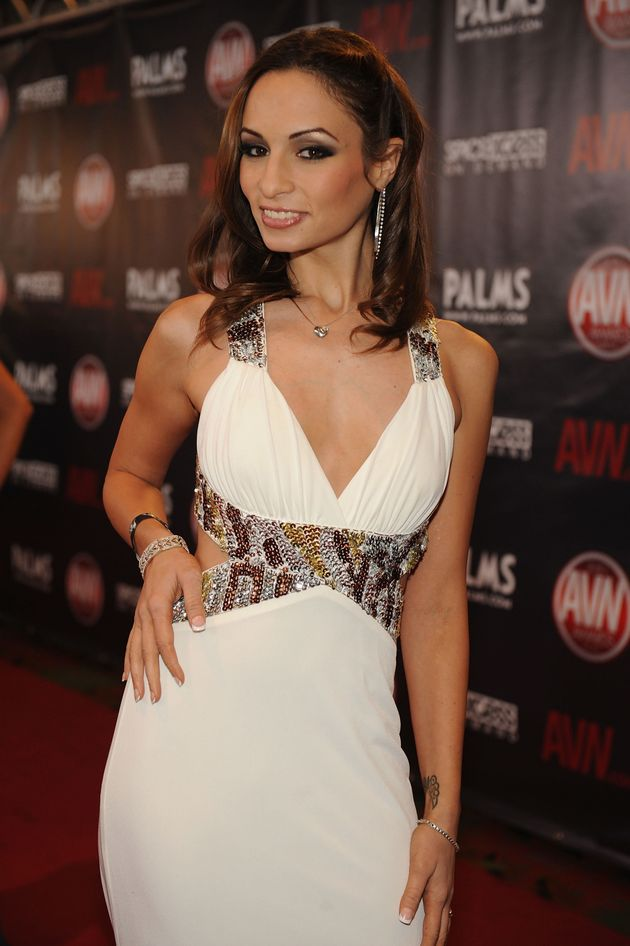 Amber Rayne, pictured here in 2010, was found dead at her Los Angeles home on