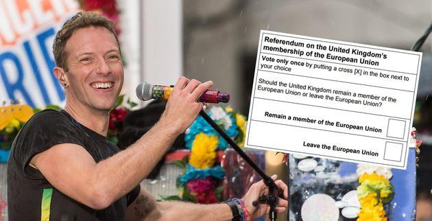 Glastonbury 2016 Festivalgoers Given EU Referendum Voting