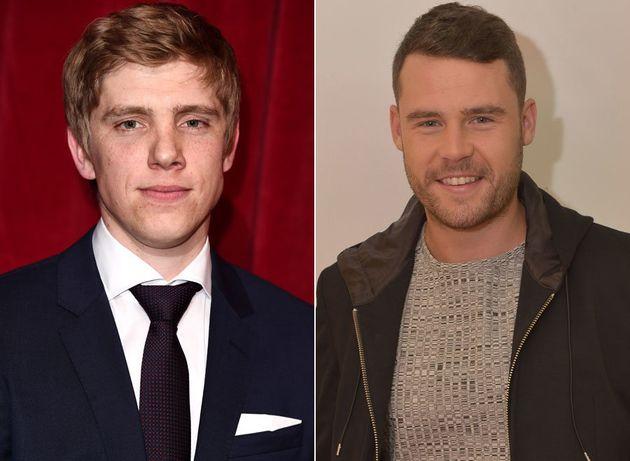 Emmerdale's Ryan Hawley and Danny