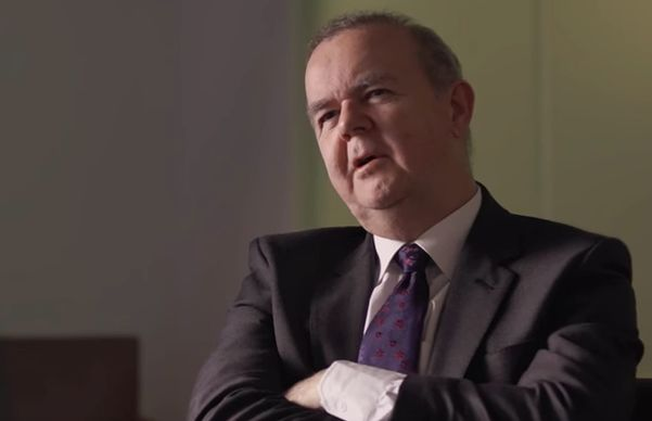Ian Hislop explains he had no reaction to IDS's surprising emotional
