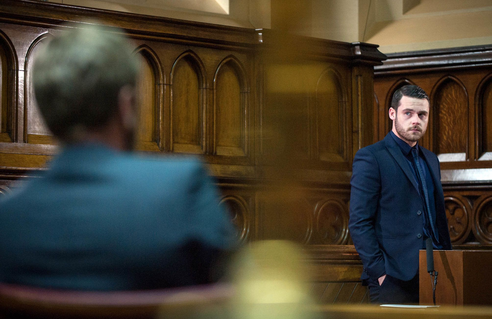 Images 'Emmerdale' Spoiler: Gordon's Trial Twists Teased By Ryan Hawley And Danny Miller | HuffPost UK 2 uk soaps
