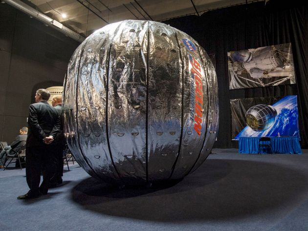 The International Space Station Is Getting An Inflatable 'Space Hotel' This