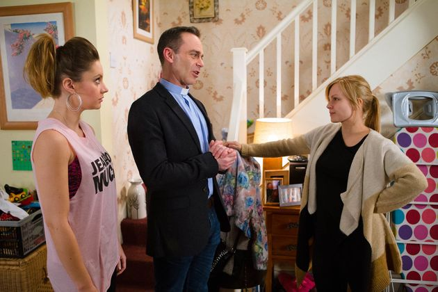 Coronation Street's Kylie, Billy and