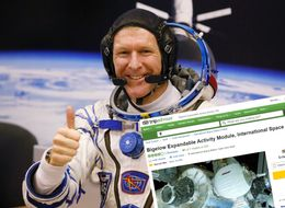 Tim Peake Leaves TripAdvisor Review For Space Station's New 'Space Hotel'