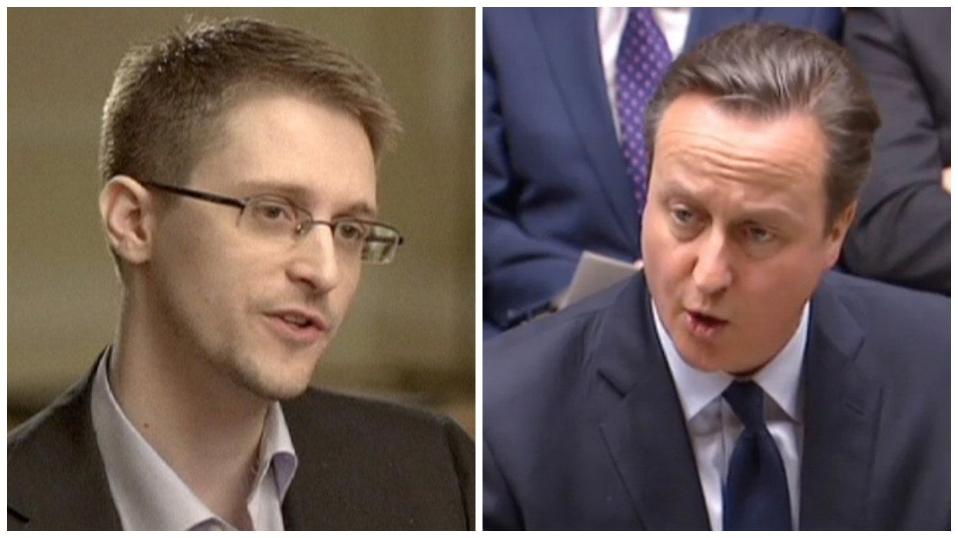 Edward Snowden Mocks Cameron For Sudden Interest In Privacy After Panama Papers