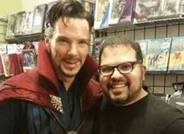 Benedict Cumberbatch Gives Comic Book Fans The Surprise Of Their Lives