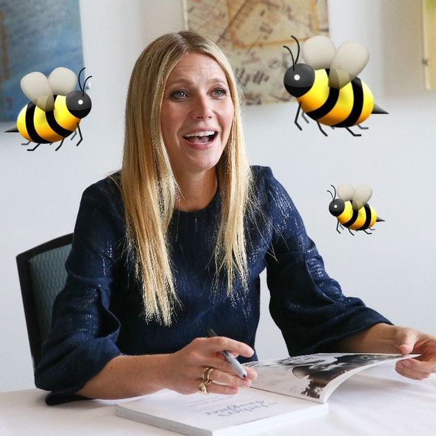 Gwyneth Paltrow Pays Bees To Sting