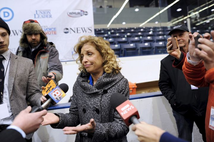 Rep. Debbie Wasserman Schultz (D-Fla.), has faced criticism as Democratic National Committee chair over scheduling the D