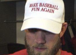 Bryce Harper Wore A Very Good Hat