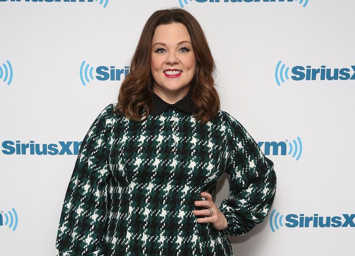 Melissa McCarthy visits at SiriusXM Studio on April 4, 2016 in New York City. (Photo by Robin Marchant/Getty Images)