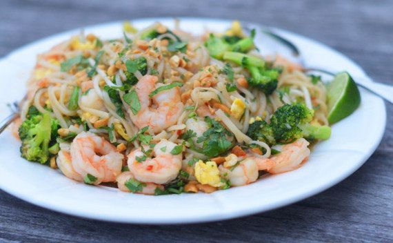 "Everything you need for this delicious Shrimp Pad Thai, you can find at your local grocery store — and it can go head-to-head with any restaurant version. <a href=""http://www.onceuponachef.com/2016/03/shrimp-pad-thai.html"" target=""_blank"">Get the recipe</a> at Once Upon A Chef."