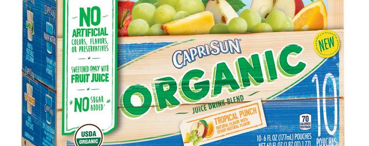 Capri Sun's new line of juice drinks are certified by the USDA as organic, but that doesn't necessarily make them a more nutritious choice.